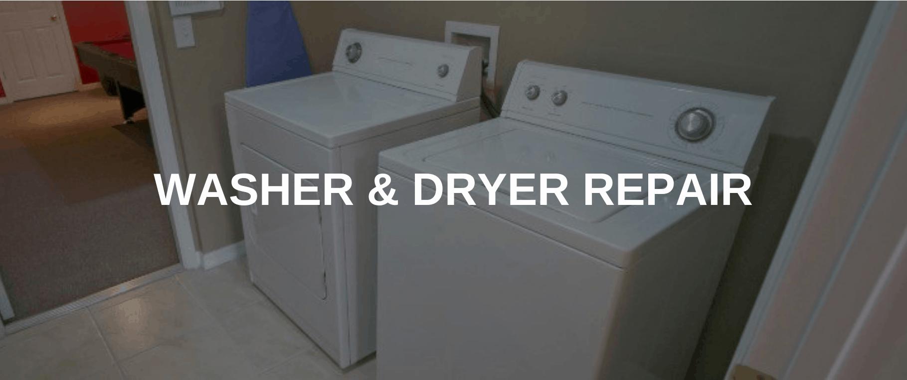 washing machine repair dayton