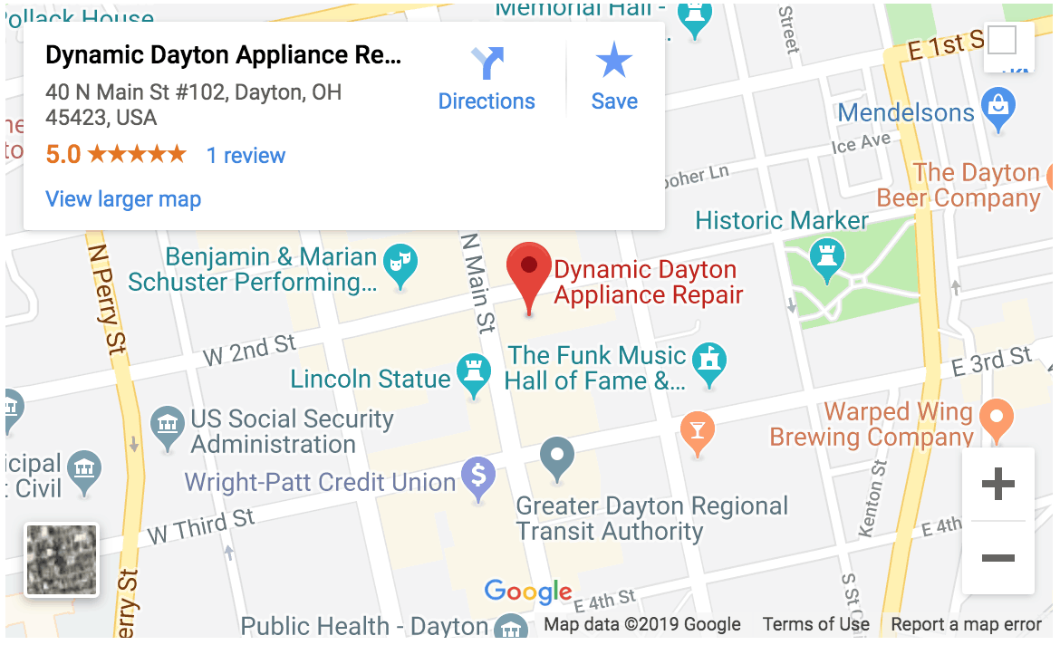 Contact Dynamic Dayton Appliance Repair
